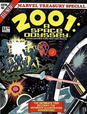 2001: A Space Odyssey (comics) - Image: 2001 A Space Odyssey treasury