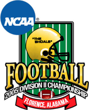 NCAA Division II Football Championship - Logo used for the 2005 NCAA Division II National Championship Game
