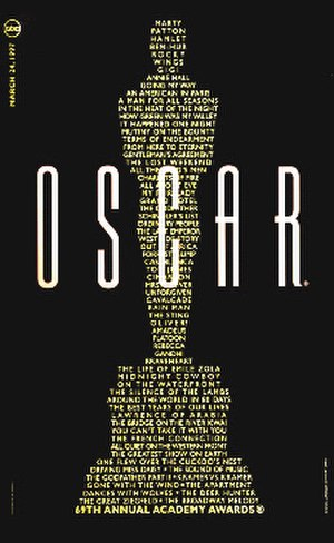 69th Academy Awards - Official poster