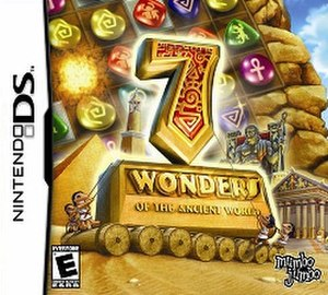 7 Wonders of the Ancient World (video game) - Image: 7 Wonders video game cover art