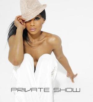 Private Show (album) - Image: Adina Howard Promo 2007