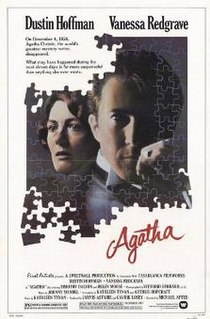 <i>Agatha</i> (film) 1979 drama thriller film directed by Michael Apted