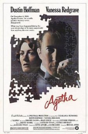 Agatha (film) - Theatrical release poster