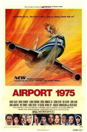 Airport 1975 - Theatrical release poster