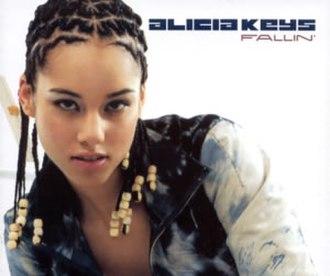 Fallin' (Alicia Keys song) - Image: Alicia keys fallin single