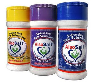 Salt substitute - A salt substitute by AlsoSalt