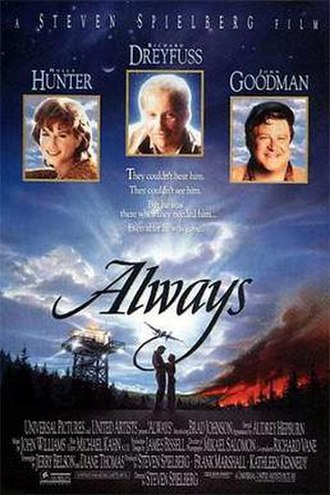 Always (1989 film) - Theatrical release poster by John Alvin