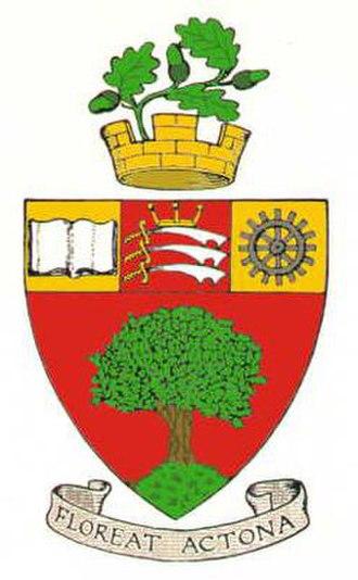 Municipal Borough of Acton - Arms of the municipal borough