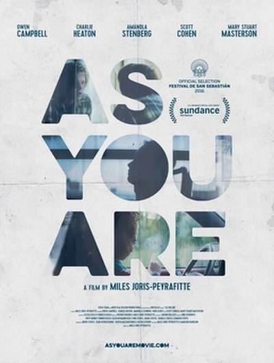 Picture of a movie: As You Are