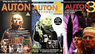 Auton (film series) - VHS covers of the original UK releases