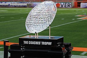 College football national championships in NCAA Division I FBS - The AFCA National Championship Trophy