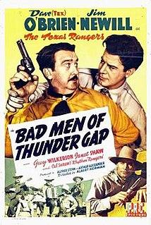 <i>Bad Men of Thunder Gap</i> 1943 film directed by Albert Herman
