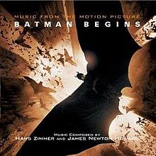 Batman Begins (soundtrack) - Wikipedia