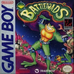 Battletoads (Game Boy) - North American cover art