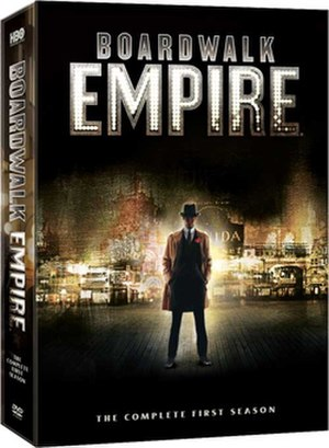 Boardwalk Empire (season 1) - DVD cover