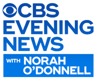 <i>CBS Evening News</i> Evening news programme, broadcast on CBS News