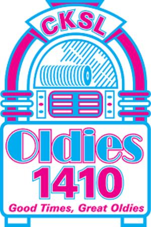 """CKSL - Logo as """"Oldies 1410"""" (2009-2012)"""