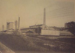 "Samuel David Alexander - Cement factory ""Croatia"" in Zagreb"