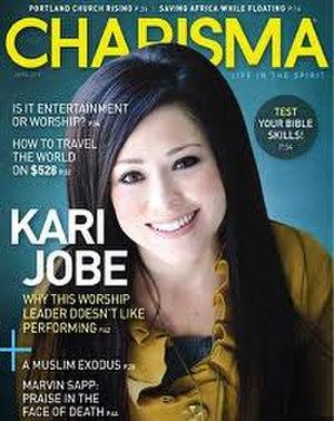 Charisma (magazine) - Image: Charisma magazine cover