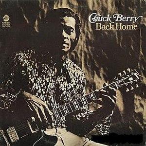 Back Home (Chuck Berry album) - Image: Chuck Berry Back Home
