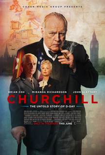 <i>Churchill</i> (film) 2017 film by Jonathan Teplitzky