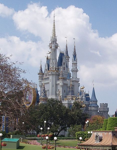 File:Cinderella Castle at Walt Disney World in Florida.jpg