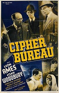 <i>Cipher Bureau</i> (film) 1938 film by Charles Lamont