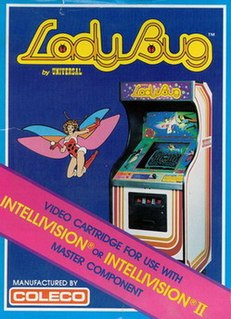 <i>Lady Bug</i> (video game) 1981 video game