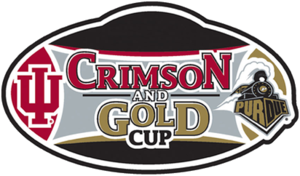 Indiana National Guard Governor's Cup - Image: Crimsonand Gold Logo