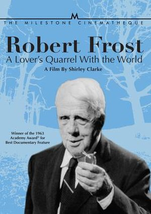 Robert Frost: A Lover's Quarrel with the World - DVD Cover
