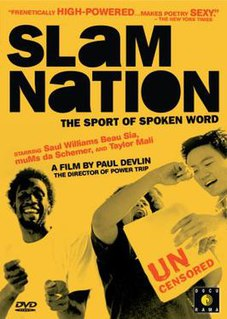 <i>SlamNation</i> 1998 film by Paul Devlin