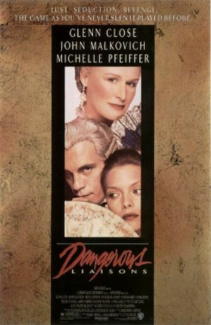 Dangerous Liaisons - Theatrical release poster