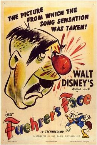 Der Fuehrer's Face - Original theatrical film poster