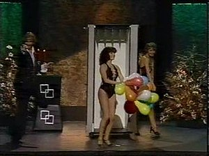 Devil's torture chamber - A performance of The Devil's Torture Chamber by magician Guy Kent on a British TV show from the 1970s