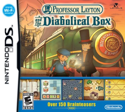 Picture of a game: Professor Layton And The Diabolical Box