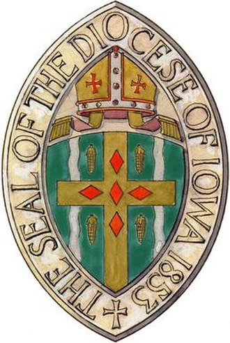 Episcopal Diocese of Iowa - Image: Diocese of Iowa seal