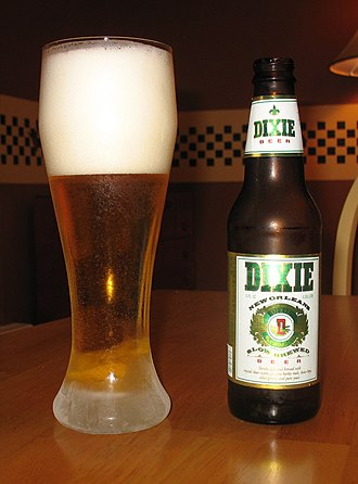 Dixie Brewing Company - Dixie Beer, contract-brewed post-Katrina by Huber Brewing