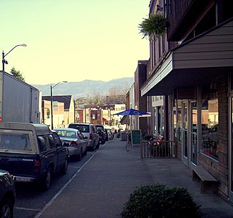 Whitesburg, Kentucky - Downtown Whitesburg