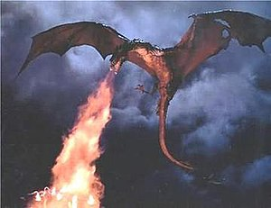 Dragonslayer - Ken Ralston's flying model of the dragon, Vermithrax Pejorative