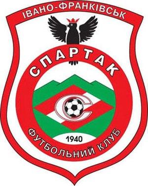 FC Spartak Ivano-Frankivsk - Old crest