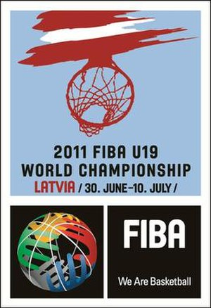 2011 FIBA Under-19 World Championship - Image: FIBA Under 19 World Championship 2011 logo
