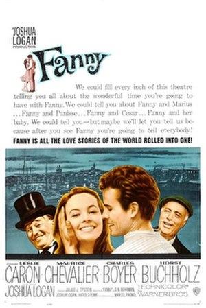 Fanny (1961 film) - Image: Fanny Poster