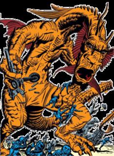 Fin Fang Foom Marvel Comics creature