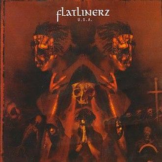 U.S.A. (Flatlinerz album) - Image: Flatlinerz U.S.A. (album cover)