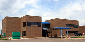 Front Range Airport - Main offices and terminal at Front Range Airport