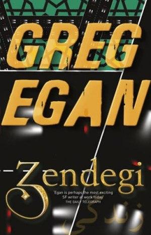 Zendegi - First UK edition cover