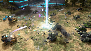 Halo Wars - Image: Halo wars combat
