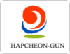 Official logo of Hapcheon