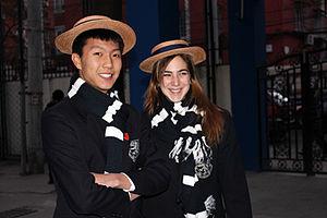 Harrow International School Beijing -  Students from Harrow Beijing in their uniforms