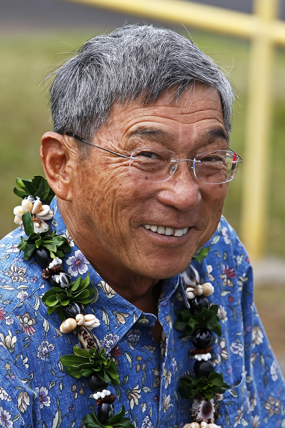 Harry Kim, Mayor of Hawaii County